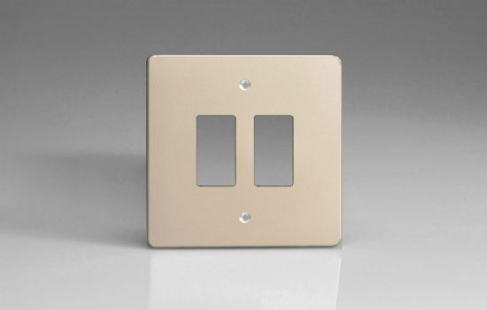 Varilight PowerGrid Plates Satin Chrome